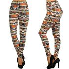 High Waist Harem Pants Loose Comfortable Stretchy Leggimgs Pockets  SS8187 M/L
