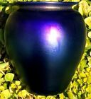 Orient & Flume hand blown glass vase signed GGX3