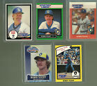 1988 1989 1990 2001 KENNER ROOKIE STARTING LINEUP ROBIN YOUNT MASTER CARD SET