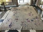 Auth: 20's Antique Art Deco Chinese Rug  Elegant Shabby Chic 9x12 Wool Beauty NR