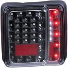 Anzo USA 311212 Tail Light Assembly Fits 07 18 Wrangler JK