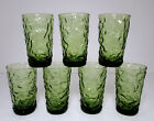 7 Anchor Hocking Lido Milano 6 oz Juice Tumblers Vtg 5 1/2