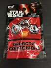 STAR WARS Topps GALACTIC CONNEXIONS 5 Discs per Pack Collectible BRAND NEW