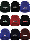 I&W Classic USA Cities Winter Knit Cuffless Beanie Hat 3D Raised Layer Letters