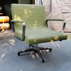 Vintage Mid Century Modern Chromcraft Swivel COMMANDER Chair Retro MCM