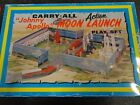 Marx Johnny Apollo Moon Launch Cape Kennedy Carry All Play Set Metal Case 1968
