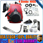 49cc 4 Stroke 142F GAS MOTORIZED Bike Engine BICYCLE MOTOR KIT Chain Drive New