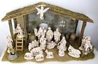 Creche For Nativity Sets Brand New Boxed Huge Costco 32x15x17 w Nativity Set