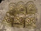 SET 6 1960s CERA BAR GLASSES OLD FASHIONED ROCKS MID CENTURY COCKTAIL GLASS SET
