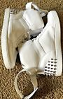 Michal Kors Mens Anthony Studded Hightop Sneakers Size 12M