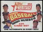 2014 Topps Heritage High Number Baseball Hobby Box Sealed 100 Card Set - Betts!