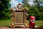 Antique Baroque Rococo Bronze Brass Picture Frame Self Standing