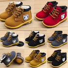 Baby Children Warm Sneaker Snow Boots Kids Boys Girl Winter Leather Shoes
