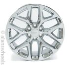 4 NEW GMC Sierra Denali Yukon Factory OEM 22 Chrome Wheels Rims Lugs CK156