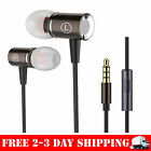 Jeselry Extra Bass Stereo Earbuds with Microphones,Wired in Ear Headphones Ear B