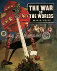 174779 Orson Welles War of the Worlds Sci Fi Vintage Decor WALL PRINT POSTER CA