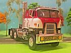 Cab Over DCP 1 64 International Transtar OVERSIZED LOAD Large Texas Bumper