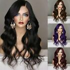 25.6'' Women Ombre Fashion Wavy Curly Long Hair Cosplay Party Full Wig Black Lot