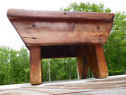 1800 ANTIQUE VERMONT BARN HANDMADE WOOD MILKING STOOL~ORIGINAL BLACKSMITH NAILS