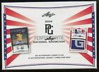 2014 Leaf National Showcase Perfect Game Factory Sealed Hobby Box...25-Autos