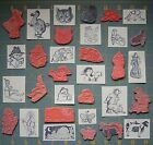 KIDSTAMPS  MORE UNMOUNTED RUBBER STAMPS YOU PICK RARE KIDSTAMPS ETC