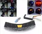 8-LED 2.4G Motorcycle Helmet Brake & Turn Signal Light Bulb Lamp Strip For Honda