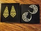Avon Holiday Inspired Duo Pack Errings-Silver & Gold -New in Box