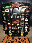 Hot Wheels 100 Count Carrying Case  64 Car Monster Truck Lot