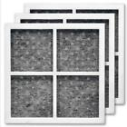 For LG LT120F Kenmore Elite Air Filter Refrigerator 3x Set 469918 ADQ73214404