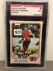 1981-82 O-Pee-Chee Paul Holmgren Signed Card #242 SGC - AU824231
