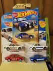 HOT WHEELS 70 FORD ESCORT RS1600  lot of 5 cars