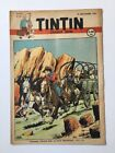 JOURNAL TINTIN 51 Belge 1947 2me Anne Couverture LE RALLIC BD RARE TBE