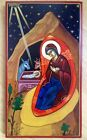 Hand painted icon Nativity hand painted orthodox icon BEST OFFER