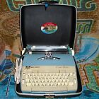 Vintage Smith Corona Coronet Electric Cursive Typewriter with Case - Works Great