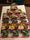 Matchbox Working Rigs Lot Of 15 Flatbed Fire Truck Crane Excavator