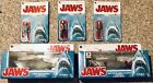 Funko Reaction Jaws. Set Of 5 Figures All MOC. Includes Bloody SDCC Variant!