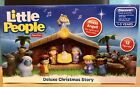 Fisher Price Little People Nativity Set DELUXE Christmas Story Baby Jesus Music