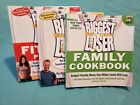 Lot of 3 The Biggest Loser Diet  Health Books Cookbook Fitness Weight Loss