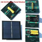 Portable 2V 4V 1W DIY Solar Panel Module System Toy For AA AAA Battery Charger