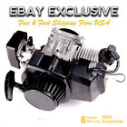 49cc 50cc 2 Stroke Motor Engine Kit Gas for Motorized Bicycle Bike Black Top