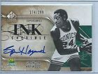 SPENCER HAYWOOD 2009-10 UD Sp Signature Ink Credible auto #'d 174 299