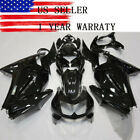 Fairing Kit for Kawasaki Ninja 250R 2008 2012 09 Glossy Black Injection Bodywork