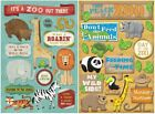 ZOO Cardstock Stickers You Choose Scrapbook Card Making Animals Monkey Zebra