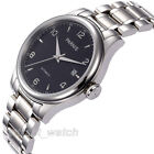 38mm Parnis Miyota Automatic Mens Watch Sapphire Glass Stainless Steel Bracelet