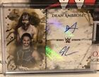 Topps WWE Undisputed 2018 Seth Rollins Dean Ambrose Gold Dual Autograph Card 10
