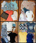 Juniors Mixed Clothing Lot Tops, ssweater, Short & Accessories 24 PC. Size M / 7