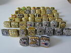 25PCS 1966 To 2016 New England Patriots Championship Ring Set Men Gift Together