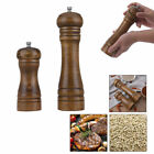 Kitchen Spices Salt and Pepper Grinders OAK WOODEN Set Mill Grinding Accessories