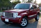 2009 Jeep Liberty Limited 2009 Red Limited!