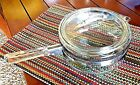 PYREX Vintage Pyrex Clear Sauce Pan Metal Band 7